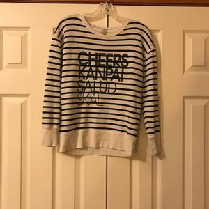 Jcrew Cheers Sweatshirt Size S